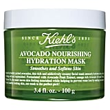 KIEHL'S Avocado Nourishing Hydration Mask ($67) Packed with hydrating ingredients like avocado and primrose oil, this moisture rich mask is perfect for parched skin.