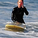 Photos of Helen Hunt Surfing
