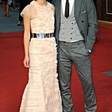 Keira and Jude looked glamorous on the red carpet.