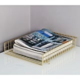 Gold Letter Tray