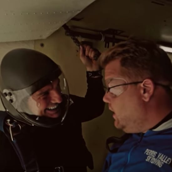 Tom Cruise Takes James Corden Skydiving