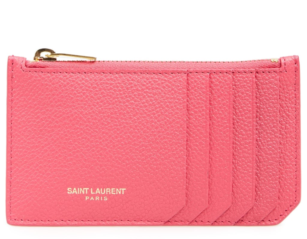 buy popular 3a147 06397 Saint Laurent Leather Card Case | Why You Should Have Two Wallets ...