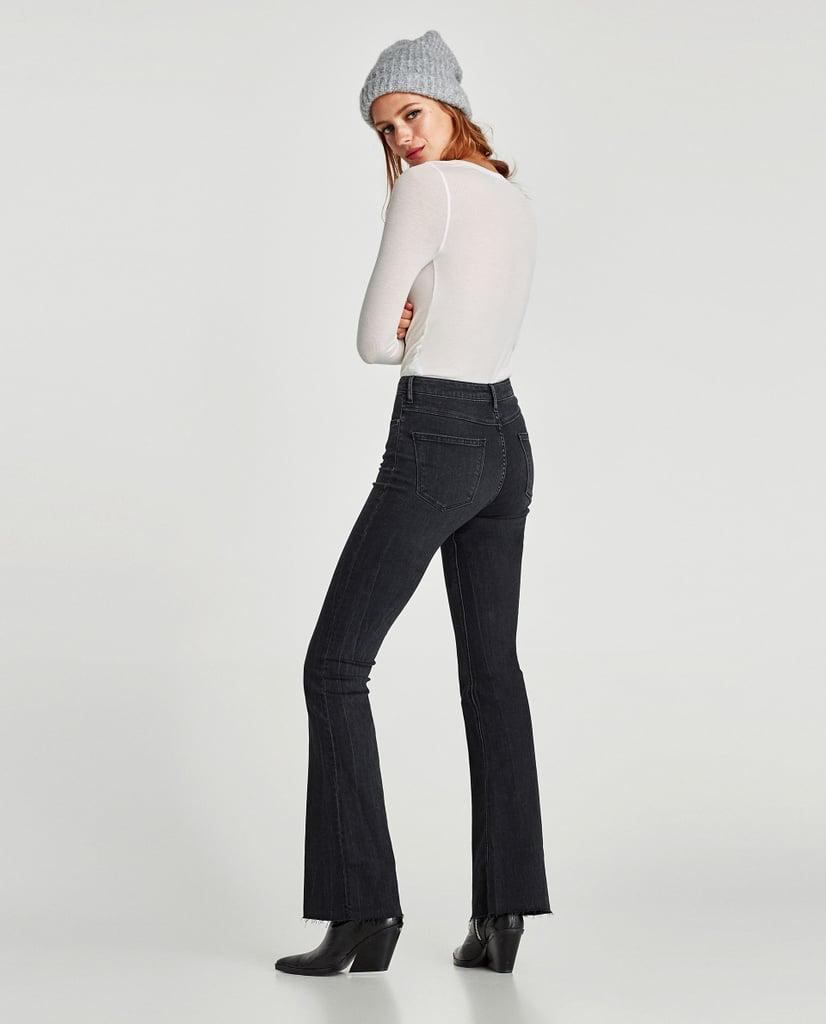 47ca74fc Zara The Skinny Flare Jeans | Stylish Ways to Wear Flared Jeans ...