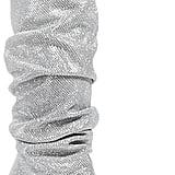 Stuart Weitzman Smashing Scrunched Metallic Tall Boots