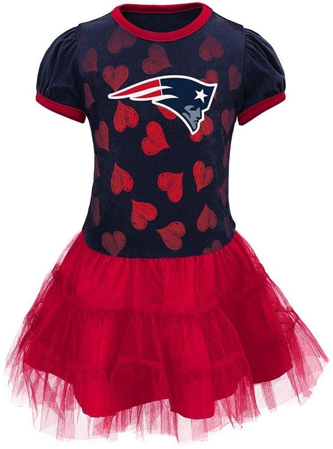 half off ce0b9 04886 New England Patriots Love to Dance Tutu Dress | Patriots and ...