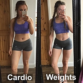 Cardio vs. Weights Before and After Transformations