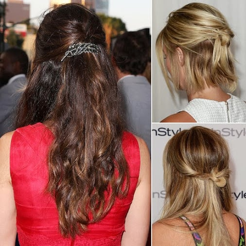 Half-up hairstyles were a trend among celebrities last week, and it seems our Google+ followers are catching on to the look, too.