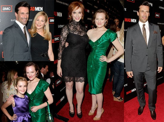 Pictures of Jon Hamm, Christina Hendricks, and More at the Premiere of Mad Men