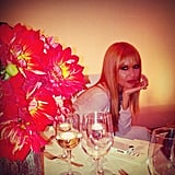 Rachel Zoe posed sweetly at the Elle Women in Hollywood dinner. Source: Instagram user mrjoezee