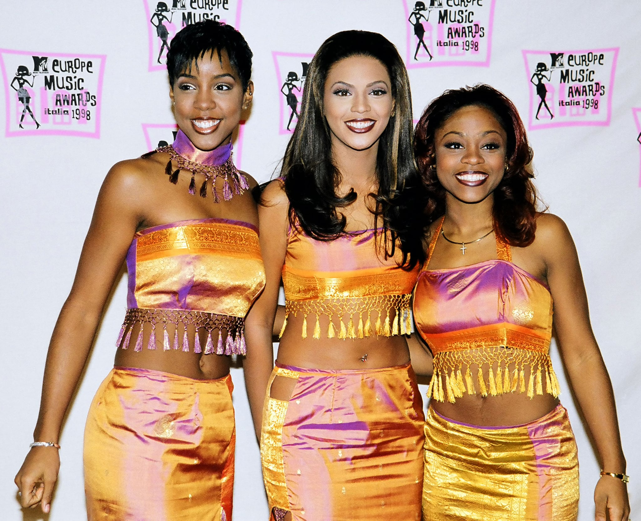 Destiny's Child during 1998 MTV European Music Awards in Milan, Italy. (Photo by Jeff Kravitz/FilmMagic, Inc)