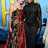 Taylor Swift and Jennifer Hudson at the Cats World Premiere in NYC