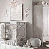 A Soft, Glamorous Nursery For a Baby Girl