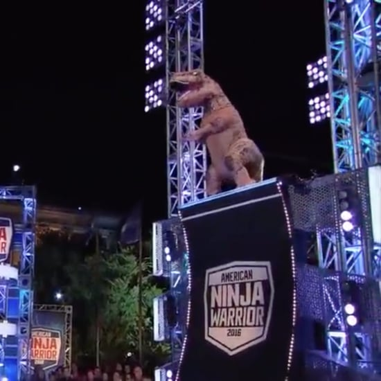 T-Rex on American Ninja Warrior