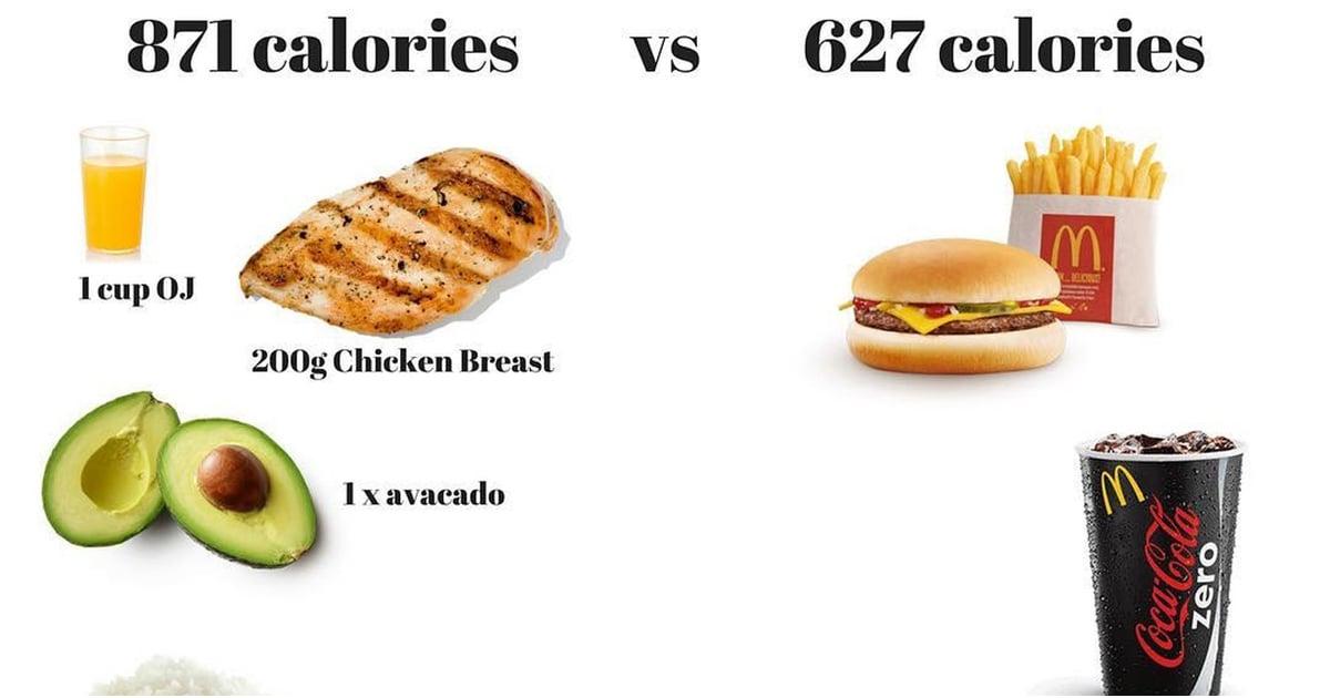 Good Calories Versus Bad Calories Popsugar Fitness Uk