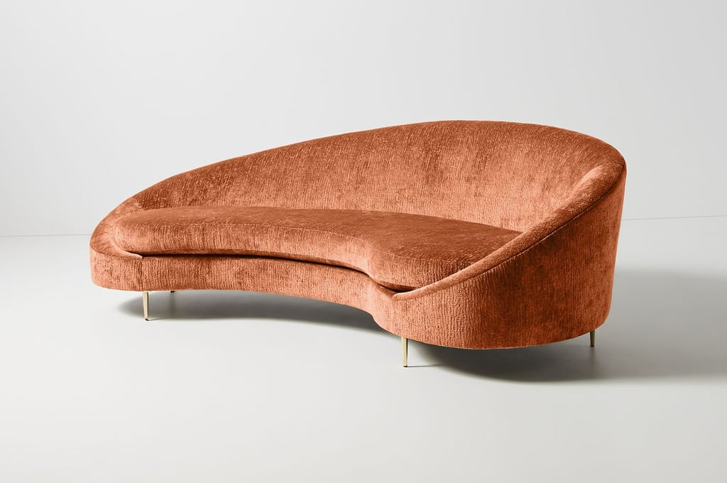 Get the Look: Asymmetrical Serpentine Sofa