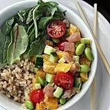 Brown Rice Albacore Chirashi Bowl