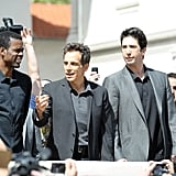 Chris Rock, Ben Stiller, David Schwimmer had fun at a photocall for Madagascar 3 in Cannes.