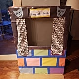 Craft your own puppet theater.