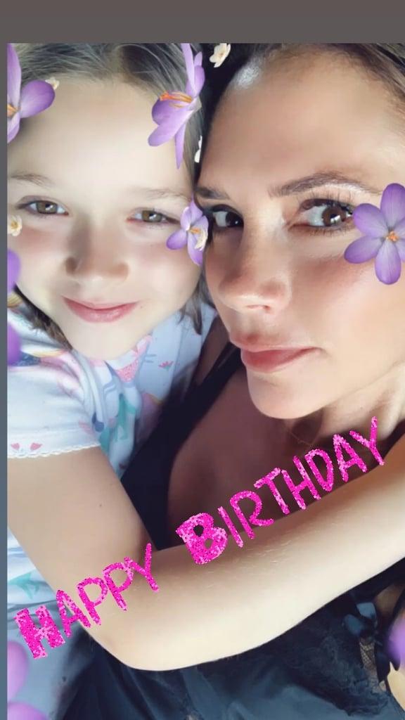The Beckham Boys Wish Harper Happy Birthday On Instagram