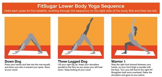 Print It: FitSugar Lower Body Yoga Sequence