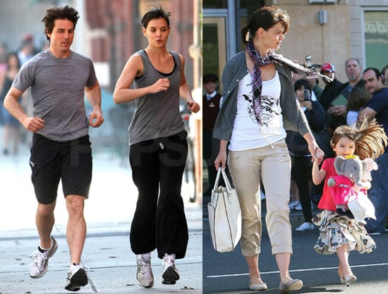Photos of Katie Holmes and Tom Cruise in Boston