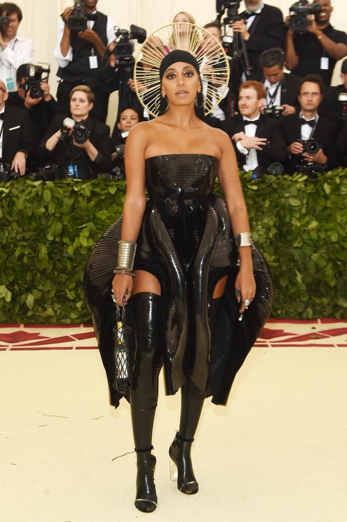 Image result for solange met gala