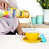 The creamer itself is yellow, just like Peeps!