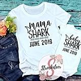 Mama Shark and Baby Shark Tee Bundle