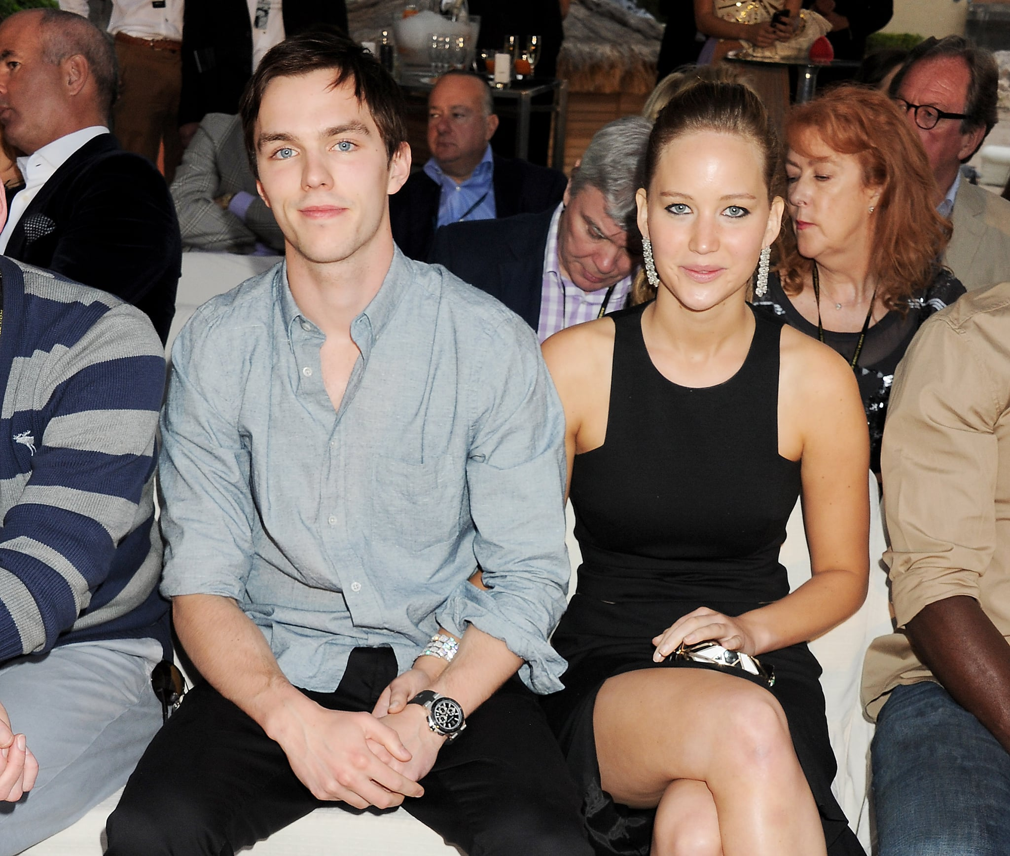 Jennifer Lawrences Ex Boyfriend Nicholas Hoult Has Opened Up About The Leaked Nude Photos Of The Actress On Thursday Nicholas Made An Appearance On Good