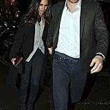 Prince Harry Meghan Markle Holding Hands in London Feb. 2017