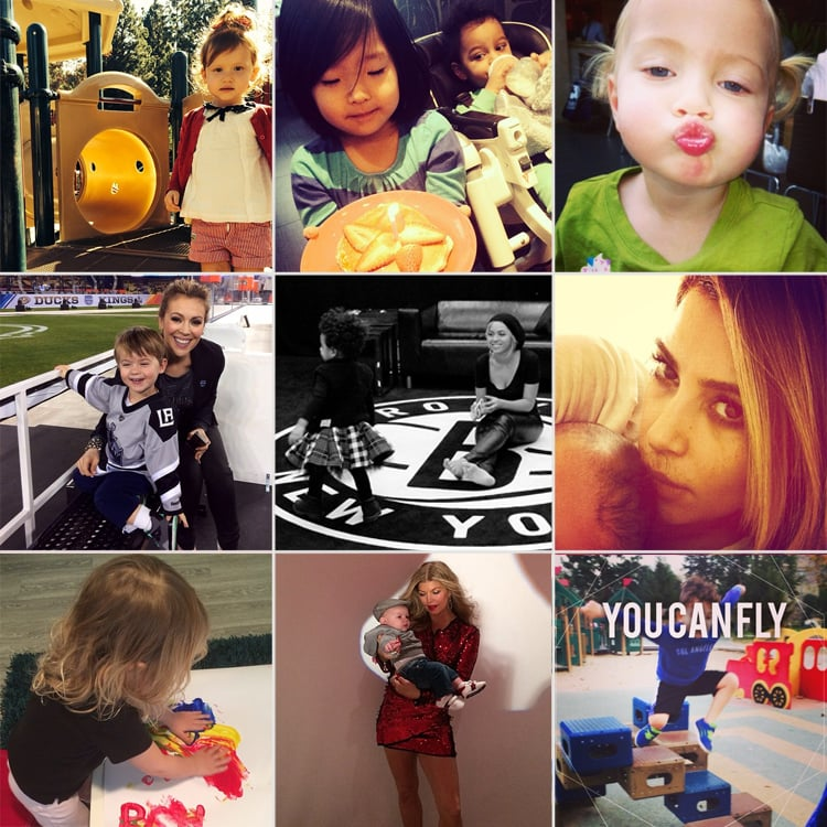 Celebrity Moms' Instagram Pictures Jan. 25-30, 2014