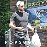 Robert Pattinson ran errands.