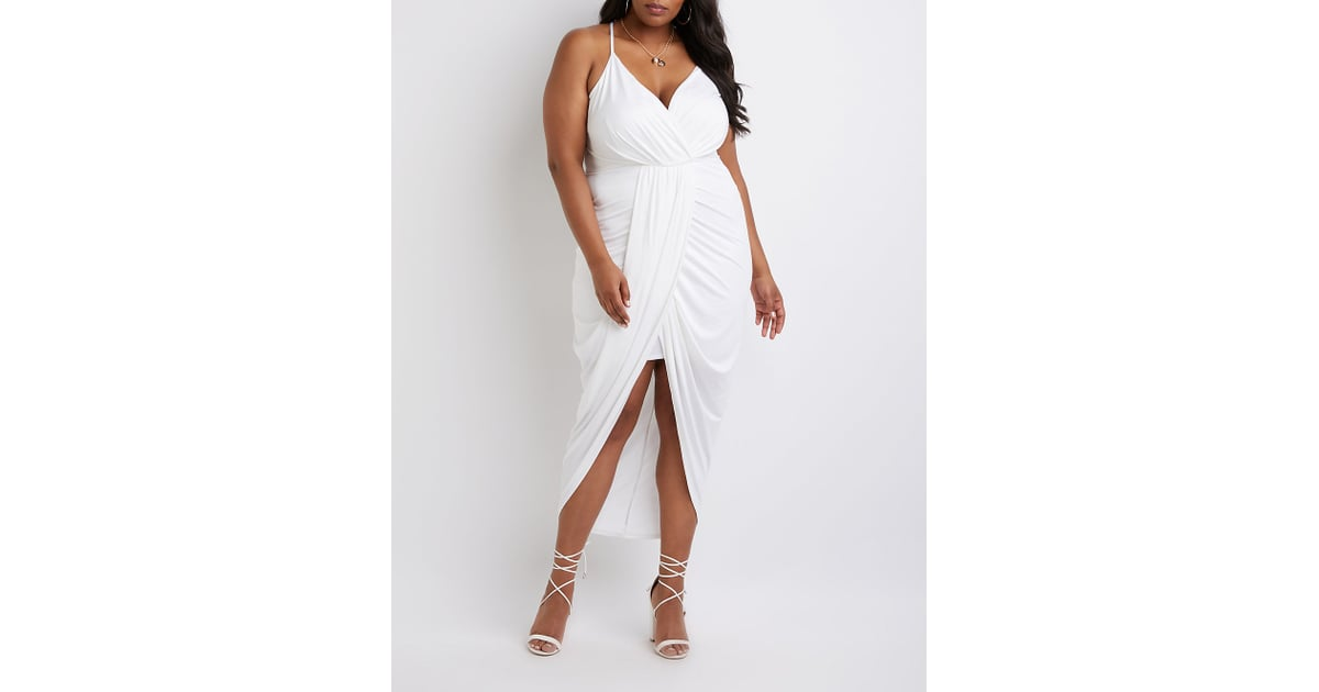 Charlotte Russe Plus Size Wrap Maxi Dress Diy Halloween Costumes