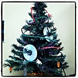 Skip the ornament hassle and make a CD/wire Christmas tree instead. (More geeky holiday ideas right this way.)