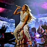 Jennifer Lopez at the 2018 American Music Awards