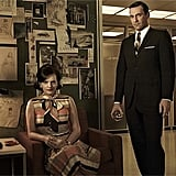 Peggy Olson and Don Draper