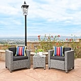 Puerta Wicker Club Chair Set