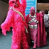 Pink Chewbacca and Tusken Raider