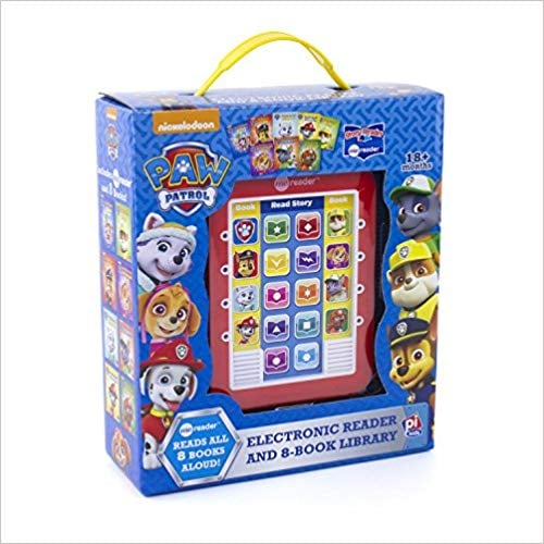 For 4-Year-Olds: Paw Patrol Me Reader Electronic Reader and 8-Book Library