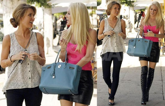 Photos of Audrina Patridge and Heidi Montag Grabbing a Bite Together in LA