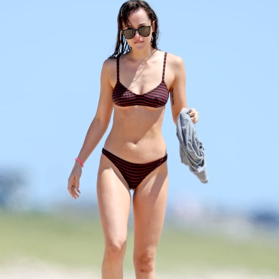 Dakota Johnson in Bikini With Chris Martin