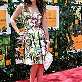 Julia Restoin Roitfeld, in Dolce & Gabbana, at the sixth annual Veuve Clicquot Polo Classic in Jersey City, NJ.  Source: David X Prutting/BFAnyc.com