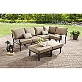 Mainstays Sandhill 7-Piece Outdoor Patio Sofa Sectional Set