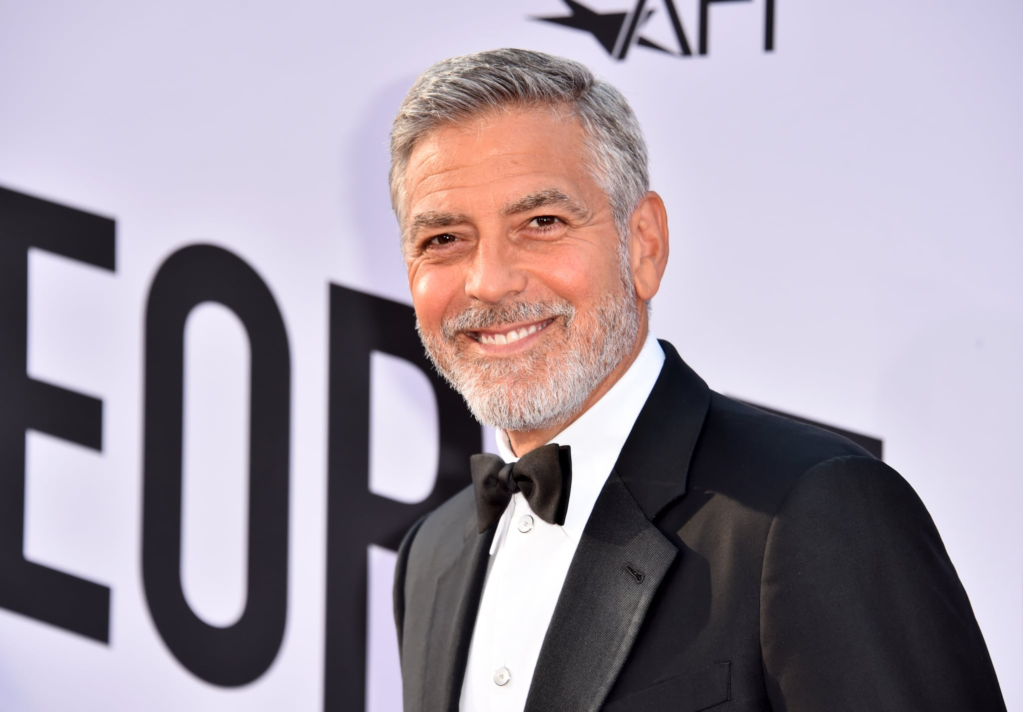 HOLLYWOOD, CA - JUNE 07:  46th AFI Life Achievement Award Recipient George Clooney attends American Film Institute's 46th Life Achievement Award Gala Tribute to George Clooney at Dolby Theatre on June 7, 2018 in Hollywood, California.  390042  (Photo by Alberto E. Rodriguez/Getty Images for Turner )