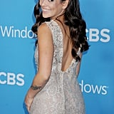 Natalie Martinez struck a pose at the CBS Fall premiere party in LA.