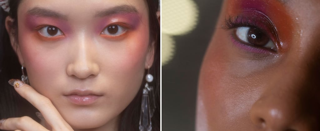 The Paula Knorr Spring 2020 Show Featured Watercolour Makeup