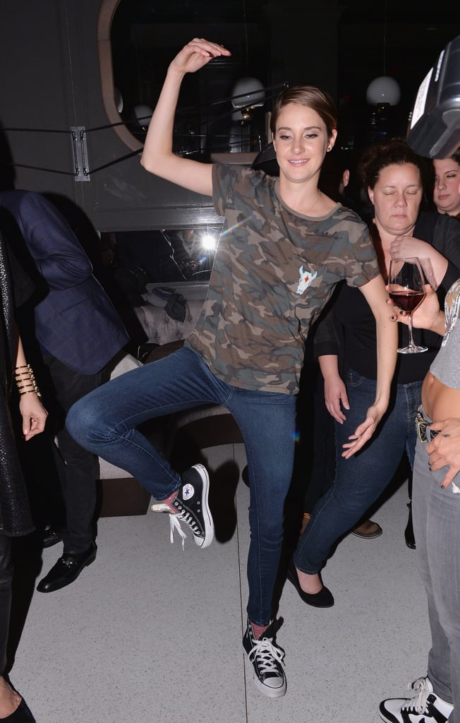 Shailene at the Marie Claire Divergent Afterparty