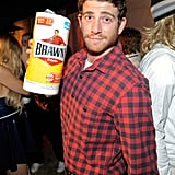 Bryan Greenberg was the Brawny man for Halloween.