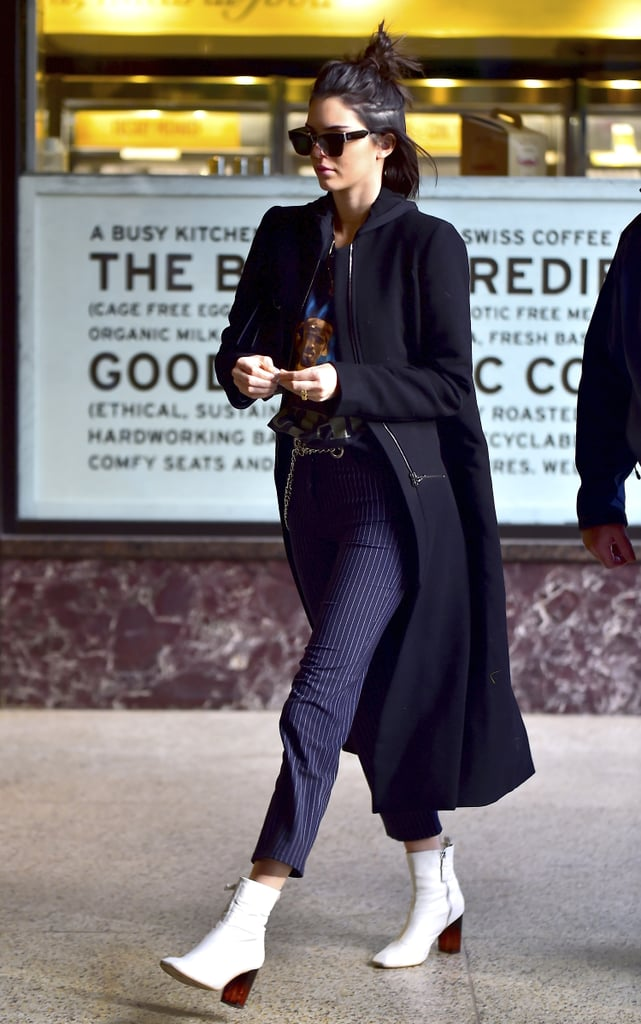 Kendall Jenner's Ankle Boots Will Make You Think Twice About the Next Pair You Buy