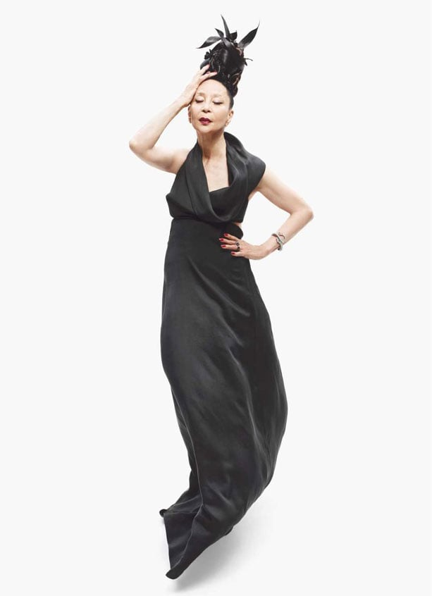 China Machado in Derek Lam, Barney's Fall 2011 ad campaign. Photo: Mario Sorrenti. Editor: Carine Roitfeld